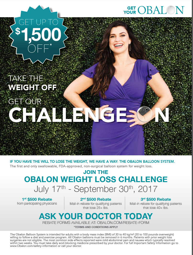 Obalon weight loss challenge